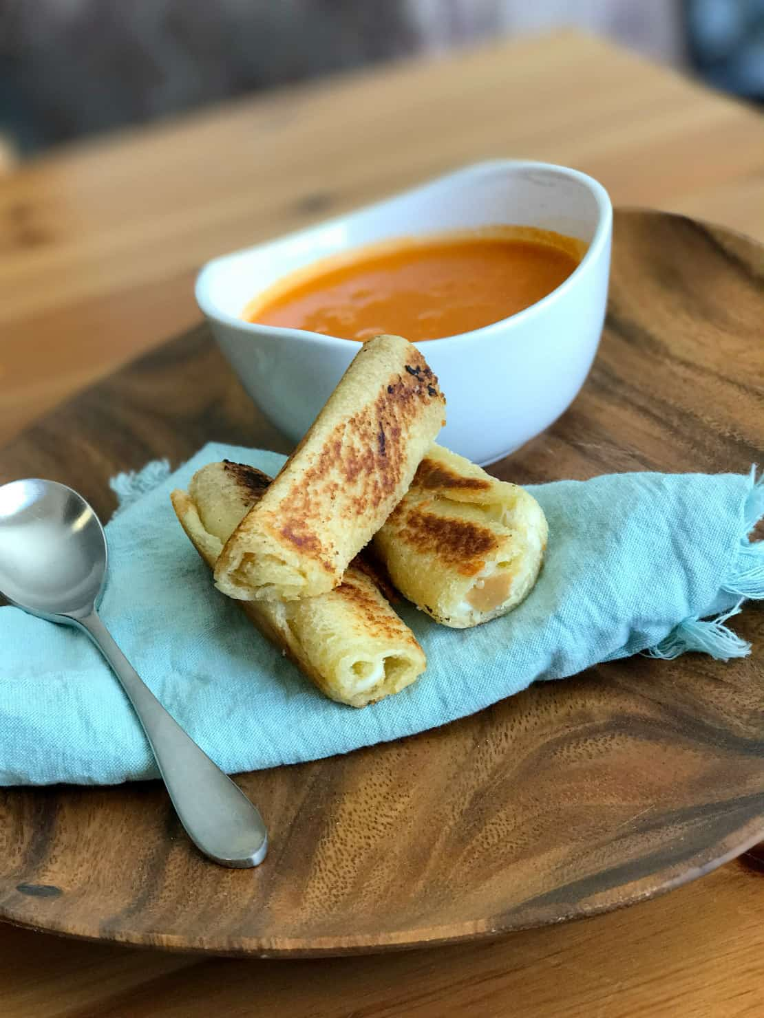 Truffle Grilled Cheese Dippers