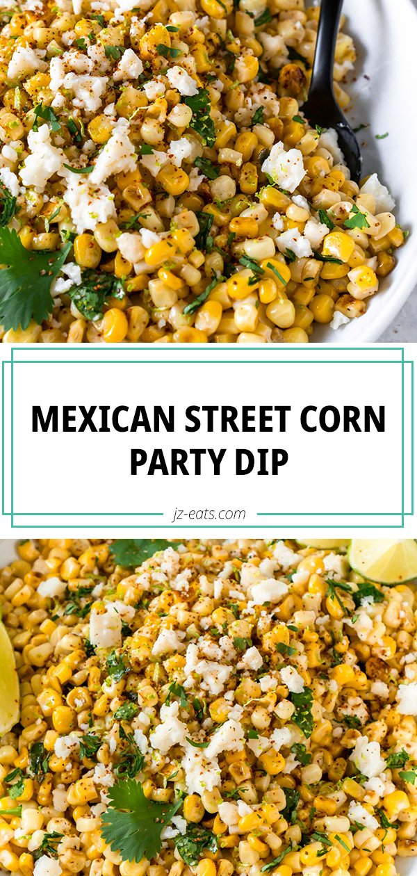 mexican street corn dip pinterest pin