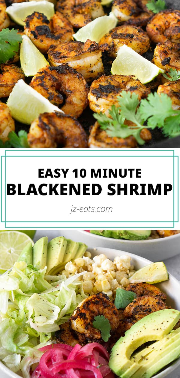 blackened shrimp pinterest long pin