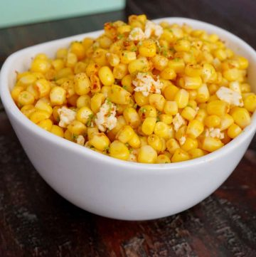 Modified Mexican Street Corn