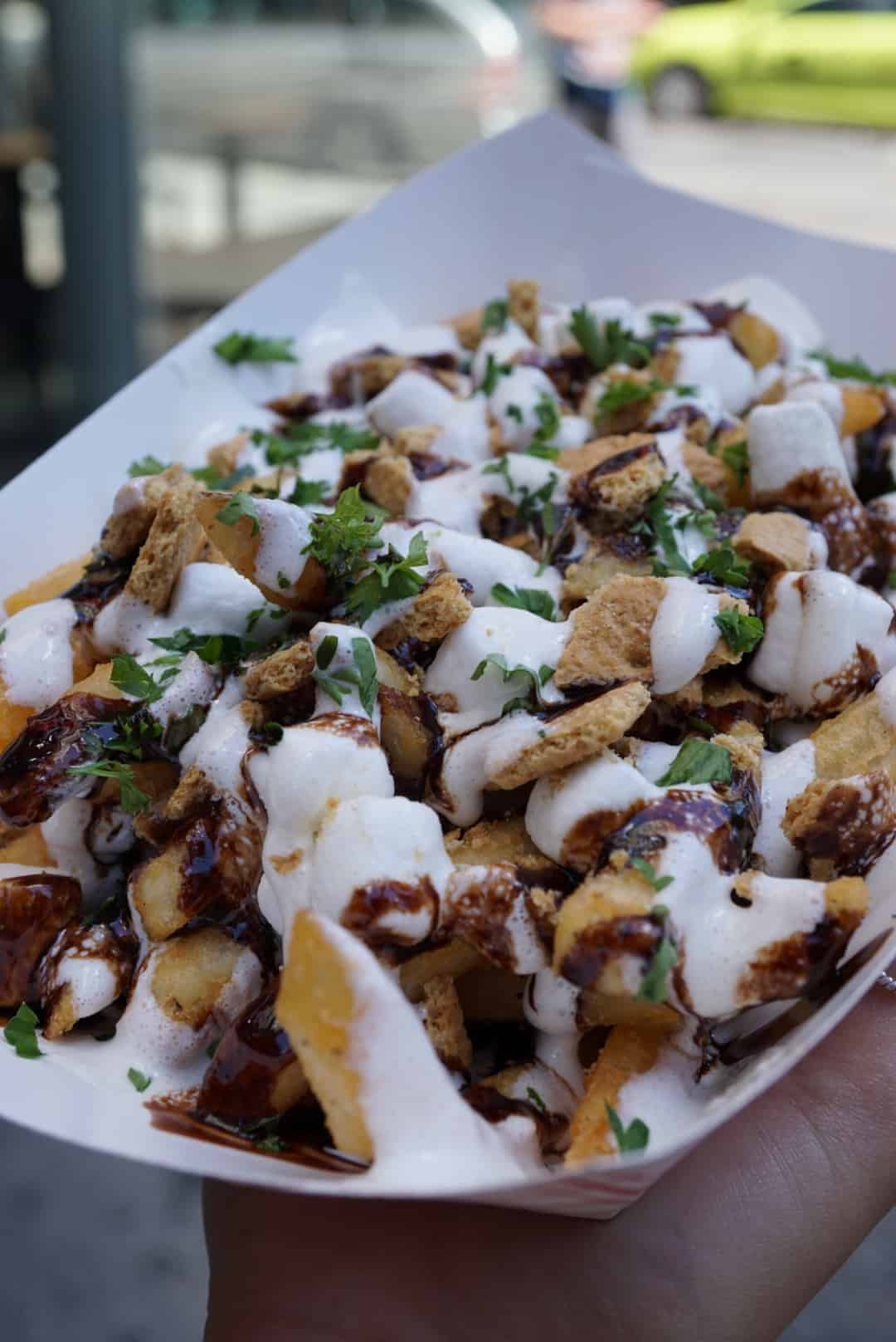 Stickys finger joint s'mores fries
