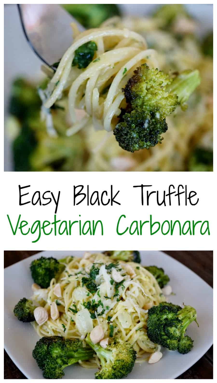 Black Truffle Vegetarian Carbonara