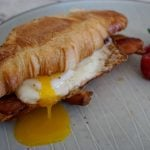 easy bacon egg and cheese sandwich
