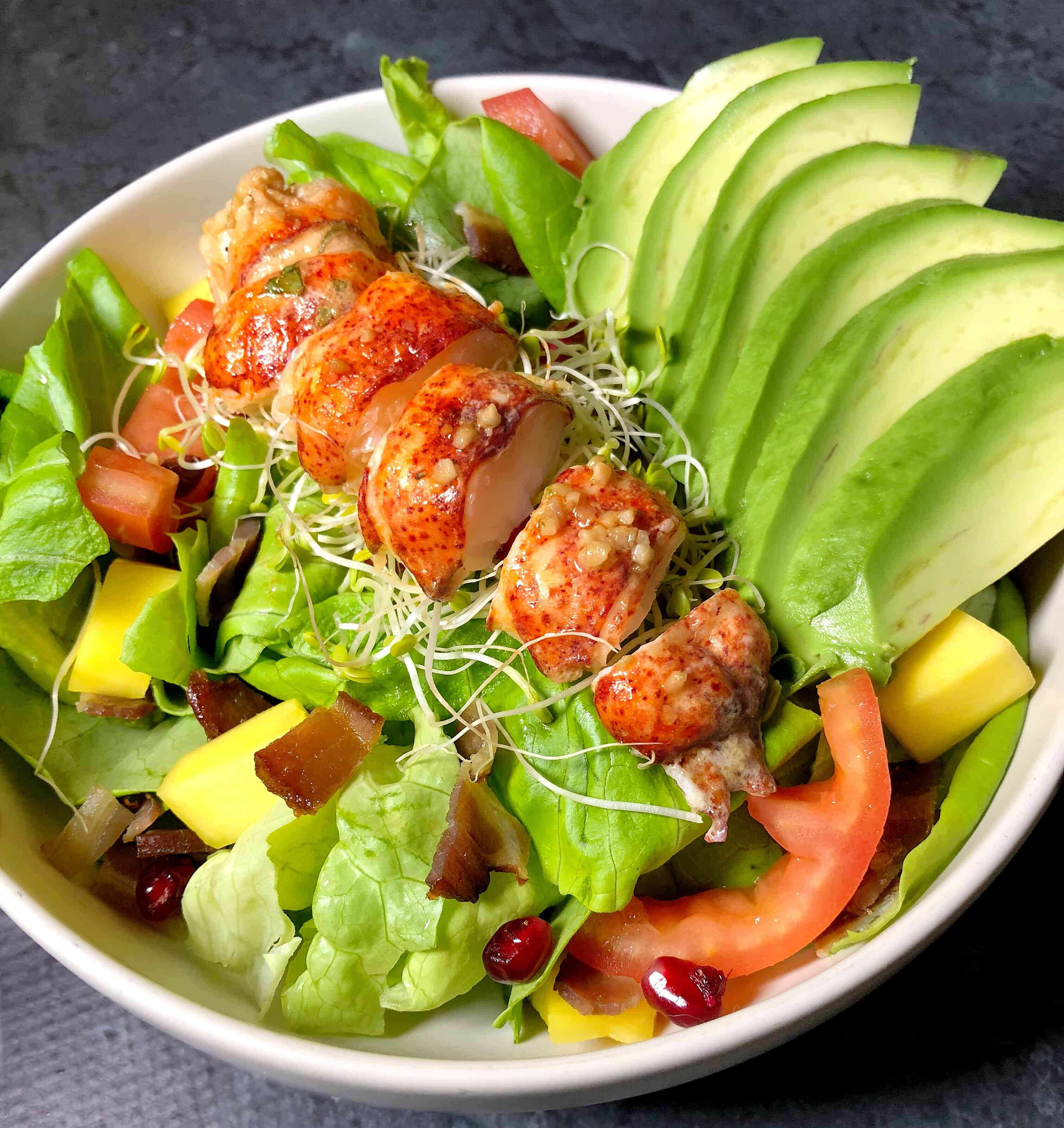 Whole30 Recipes Lobster Salad With Avocado