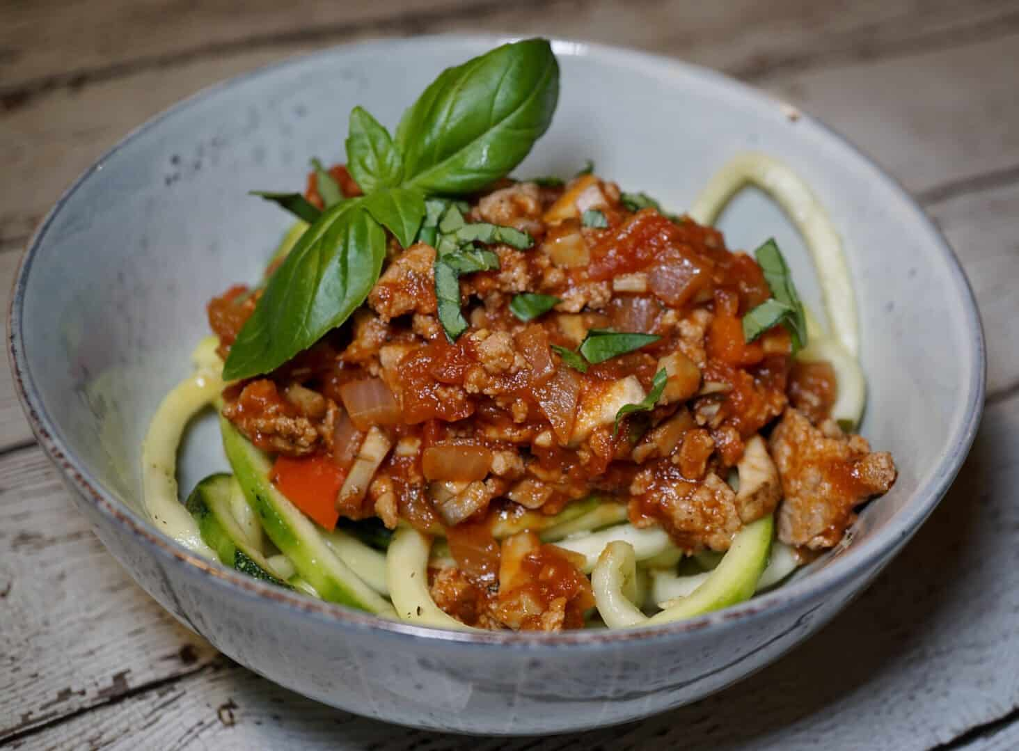 whole30 recipes mushroom bolognese