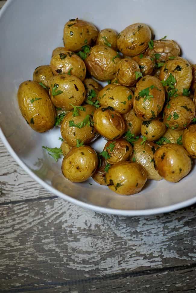 Whole30 Recipes Slow Roasted Mini Potatoes