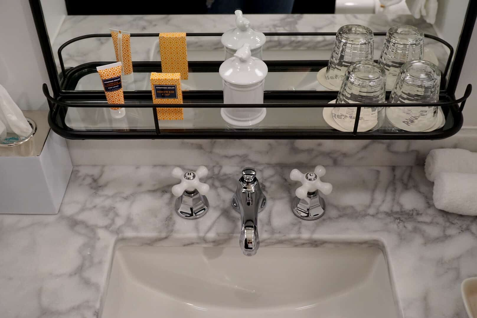 Baltimore Staycation at Hotel Revival - The Bathroom