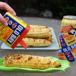 Old bay on corn