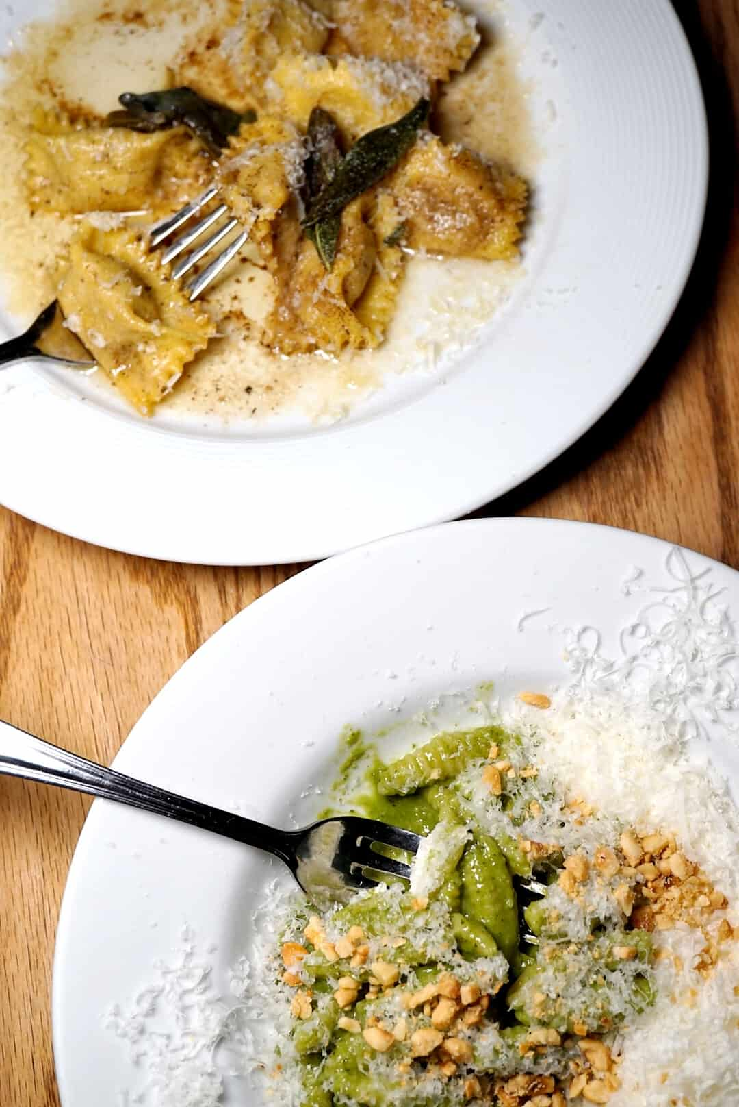Orto recently opened in Baltimore and is already wowing everyone with their thoughtfully prepared menu. Orto's space is intimate and cozy, the ideal spot for date night in Baltimore.