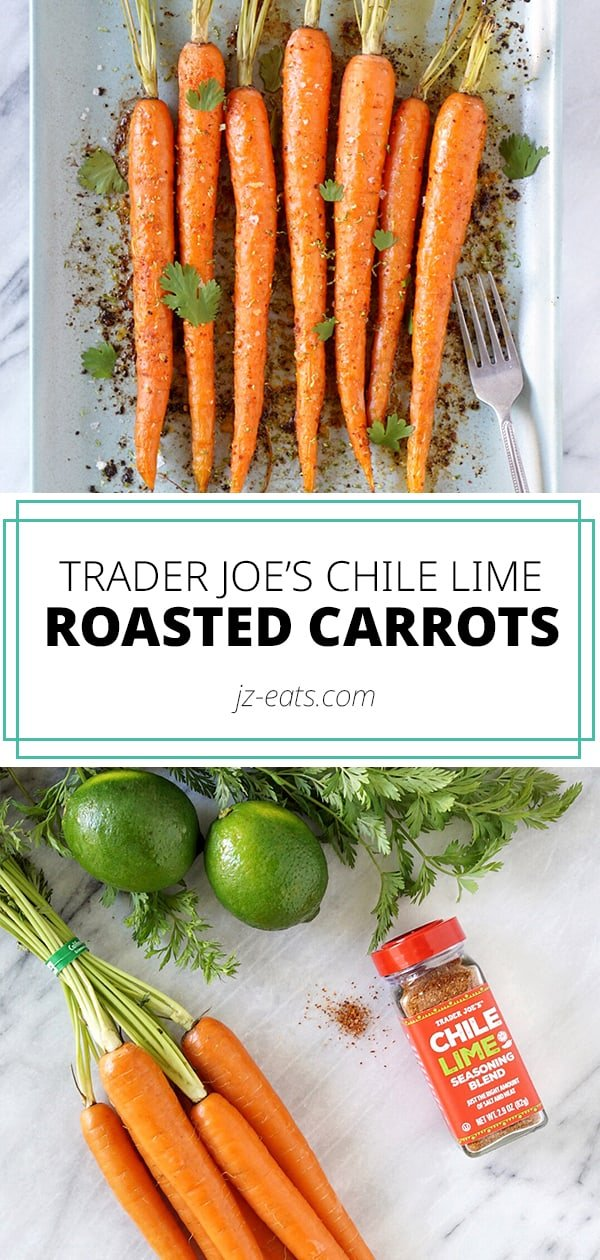 pin this chili lime roasted carrots recipe
