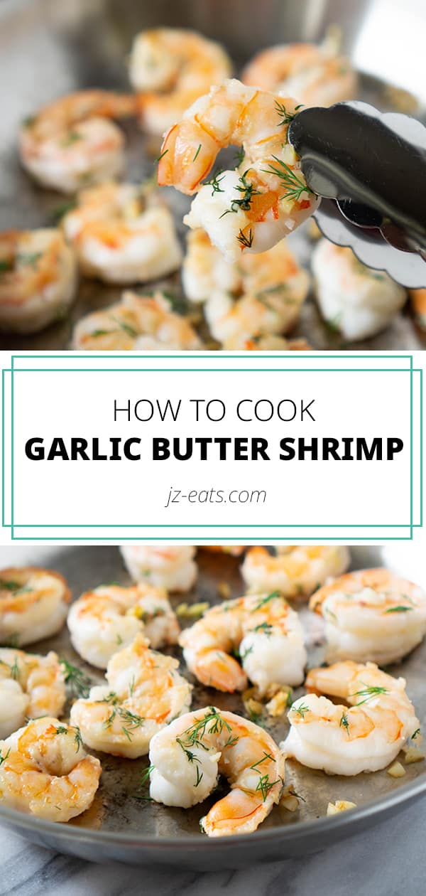 Garlic Butter Shrimp Pinterest Long Pin