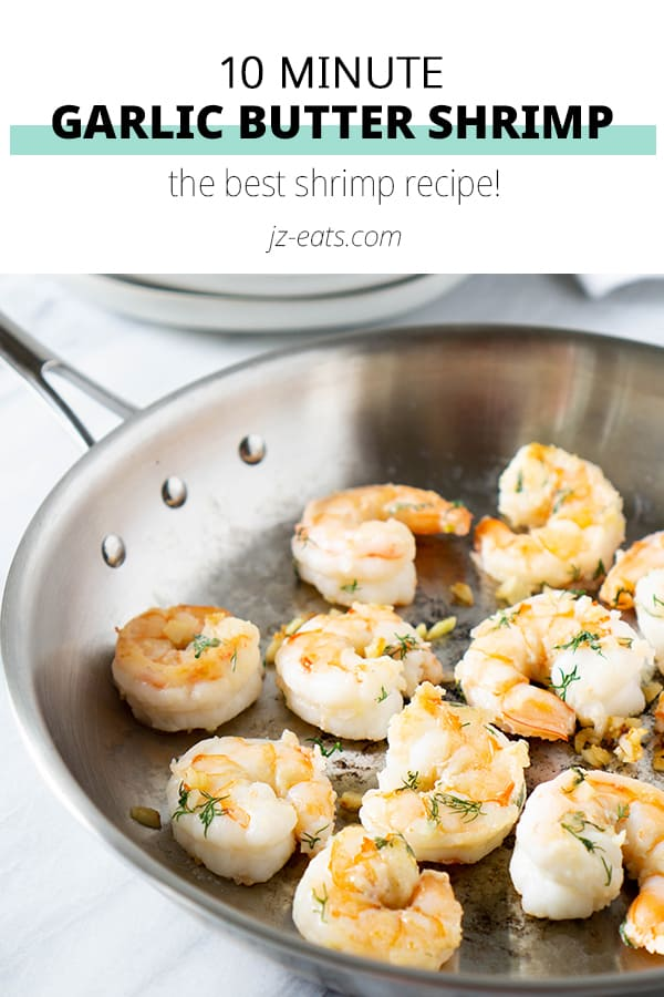 Garlic Butter Shrimp Pinterest Short Pin
