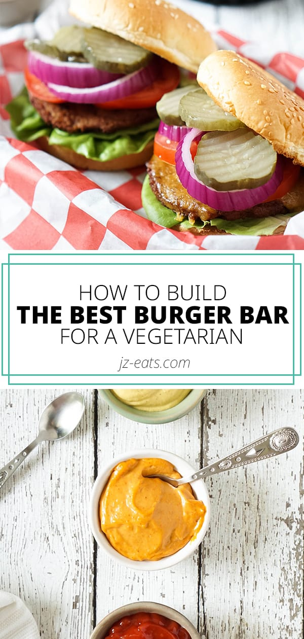 the best veggie burger bar pinterest long pin