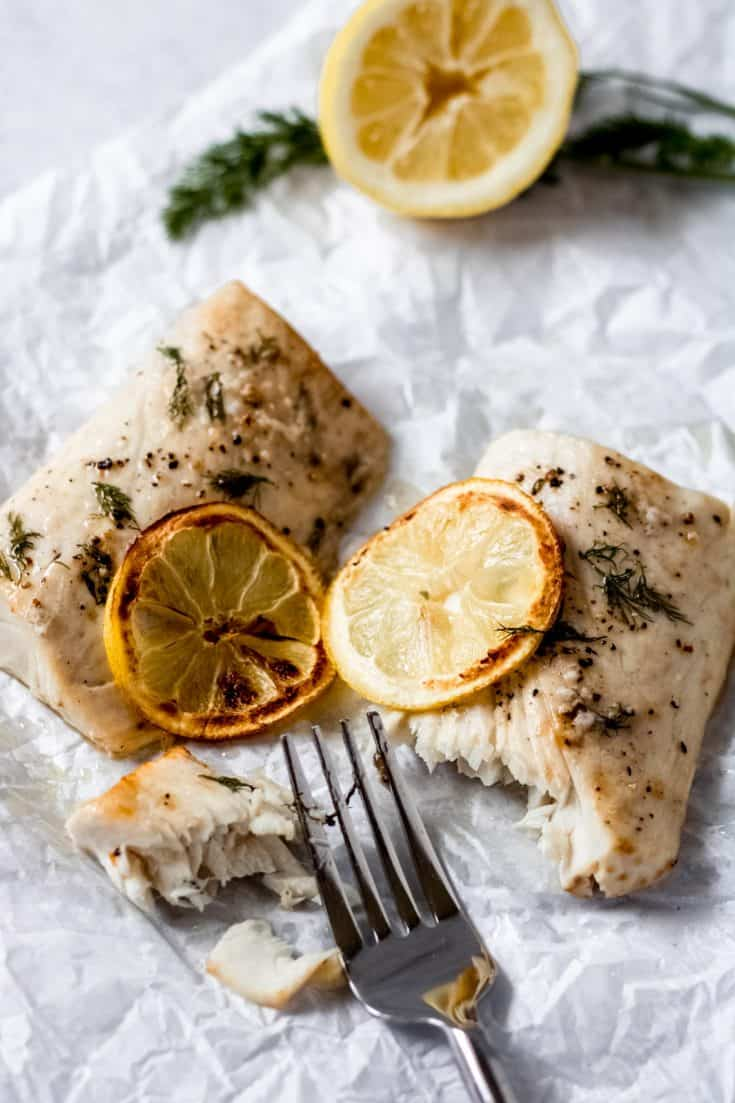Air Fryer Lemon Dill Mahi Mahi