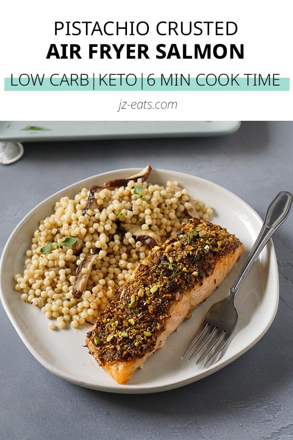 air fryer salmon pinterest short pin
