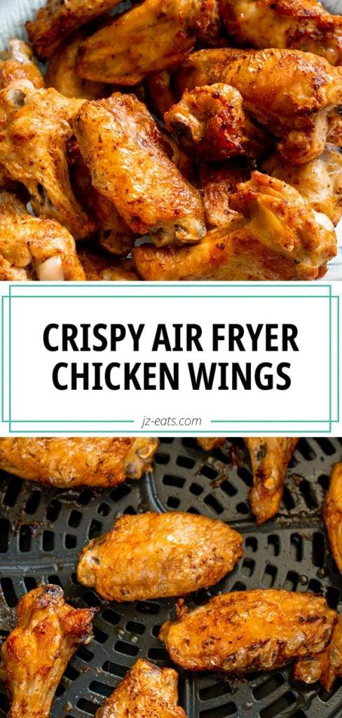air fryer chicken wings long pin