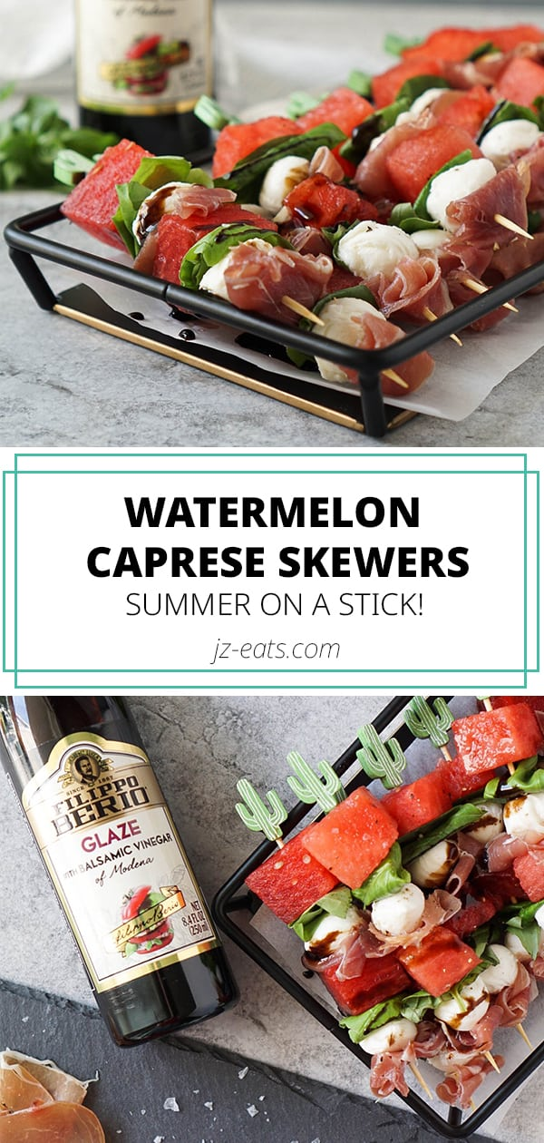 caprese skewers pinterest long pin