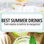 summer drinks pin
