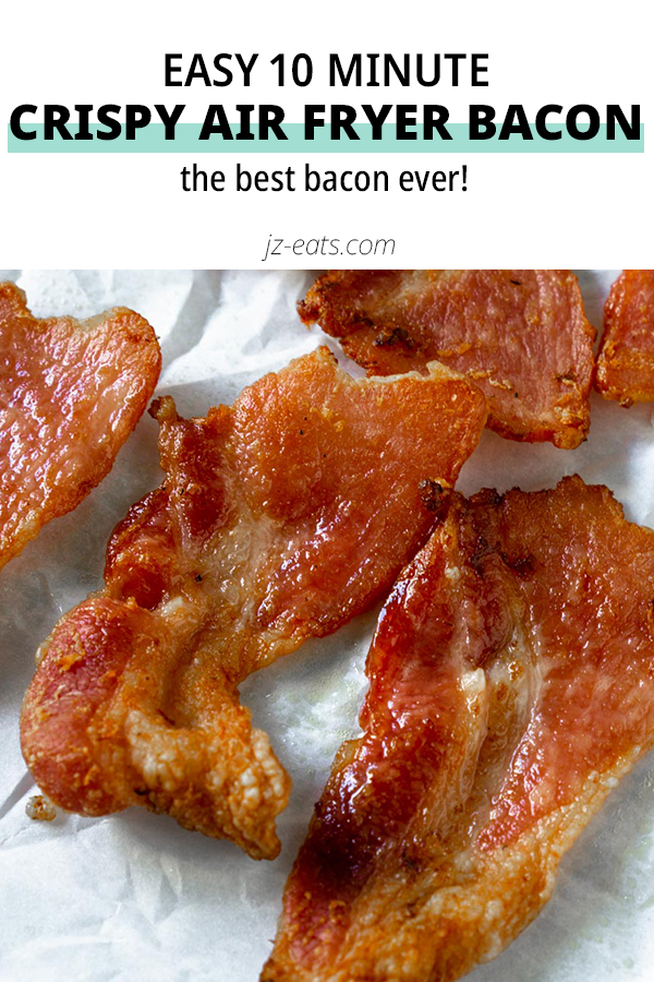 air fryer bacon pinterest short pin