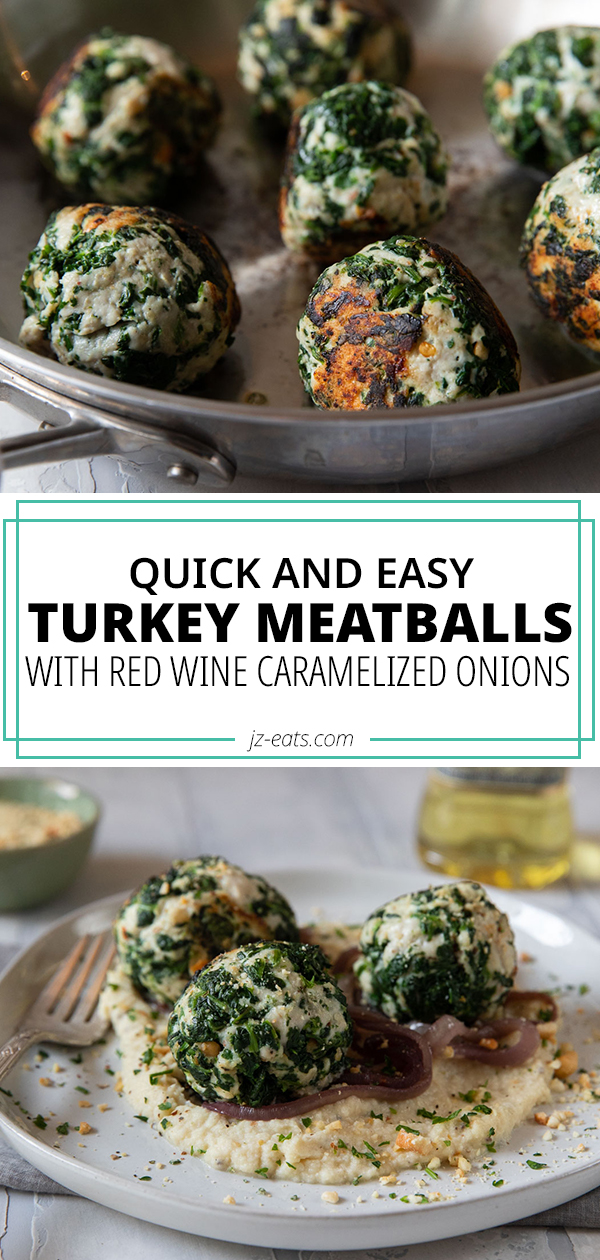 turkey meatball recipe pinterest long pin