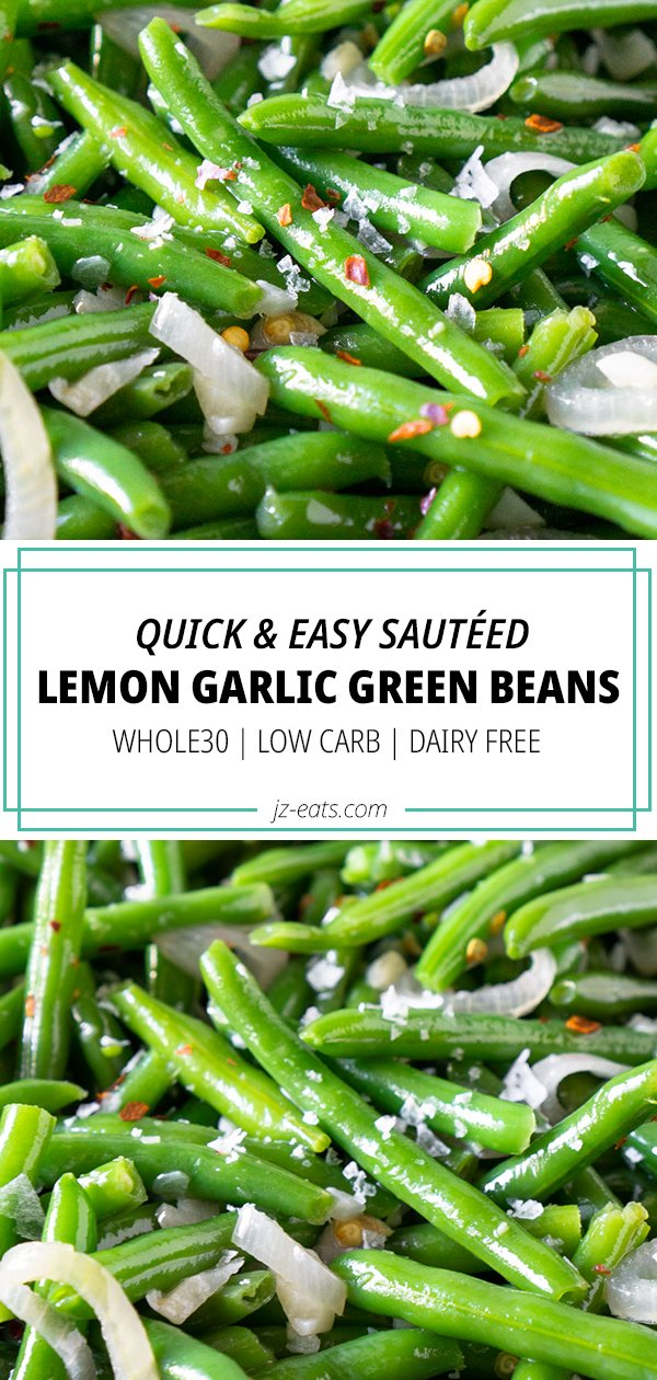 sautéd green beans pinterest long pin