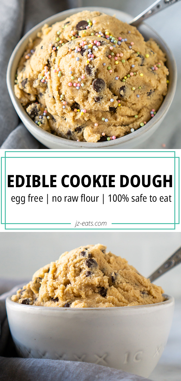 edible cookie dough pinterest long pin