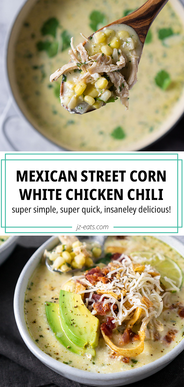 white chicken chili pinterest long pin