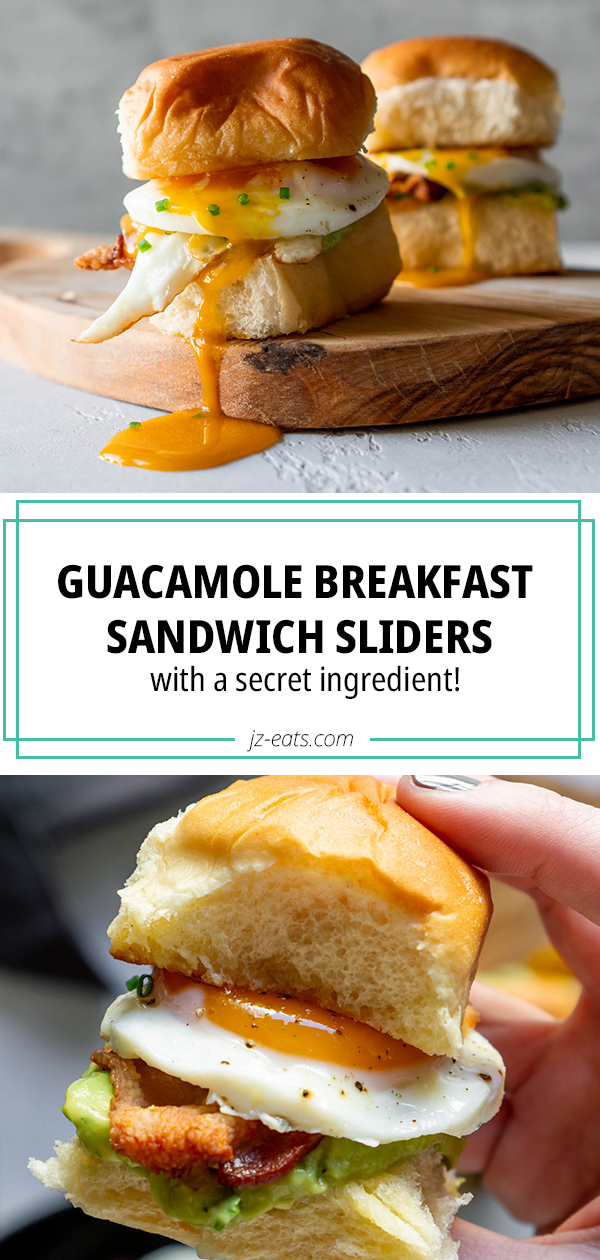 guacamole breakfast sandwich sliders pinterest long pin