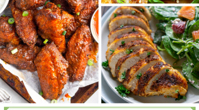 air fryer chicken recipes pinterest pin