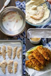 steps to make air fryer chicken tenders