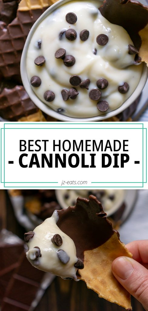 cannoli dip pinterest long pin