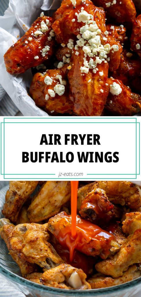air fryer buffalo wings long pin