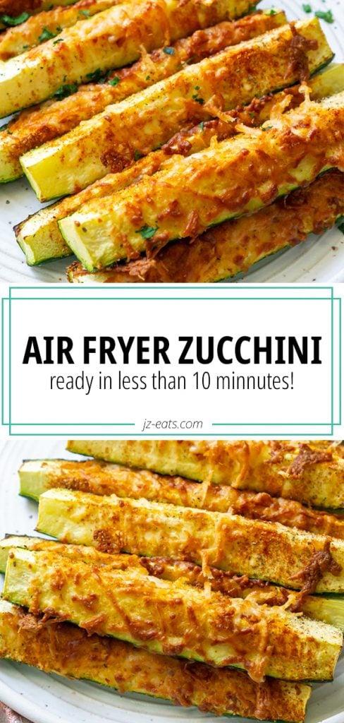 air fryer zucchini pinnterest long pin