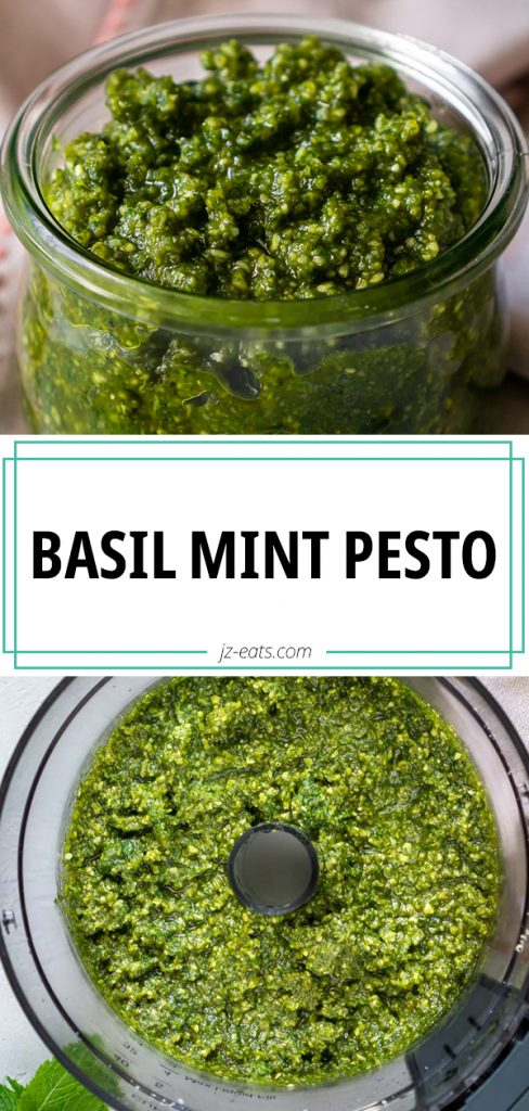 mint pesto pinterest pin