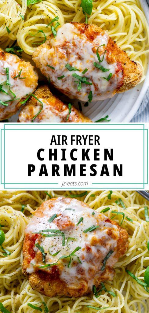 air fryer chicken parmesan long pin