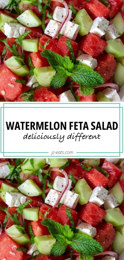 watermelon feta salad long pin