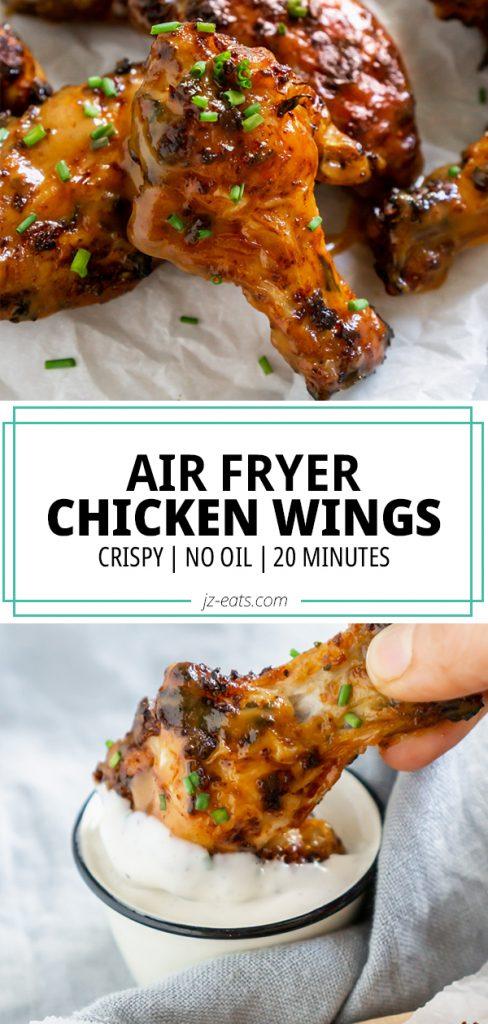 air fryer wings pin