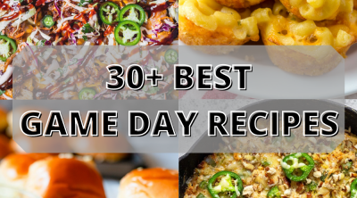 game day recipes pin