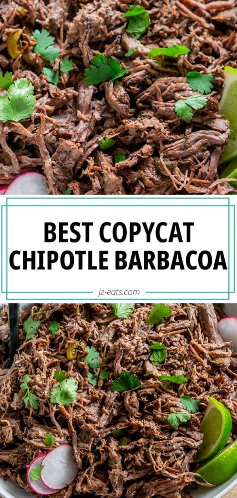 chipotle barbacoa long pin