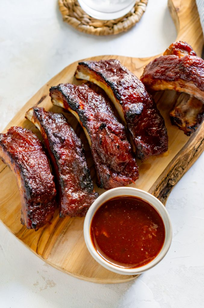slow cooker ribs with bbq sauce