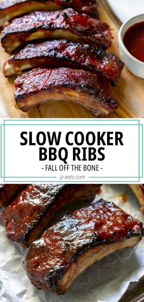 slow cooker ribs pin