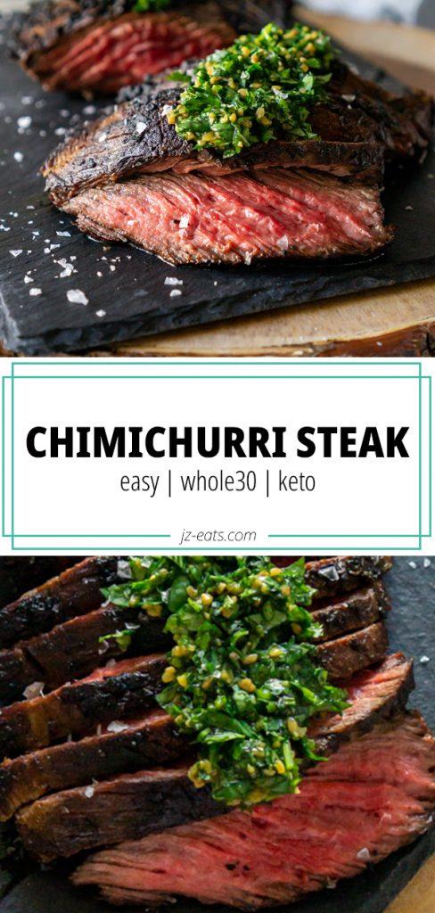 chimichurri steak pin