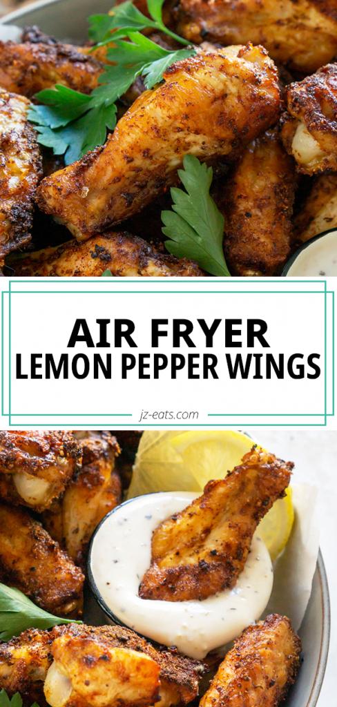 lemon pepper wings pin
