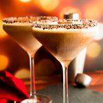 espresso vodka cocktails in martini glasses