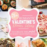 valentine's day dinner ideas pin