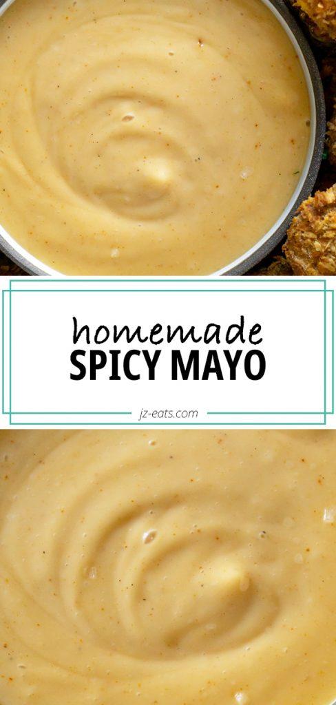 spicy mayo pinterest pin