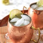 mexican mule in a copper cup