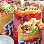 walking tacos in frito bags
