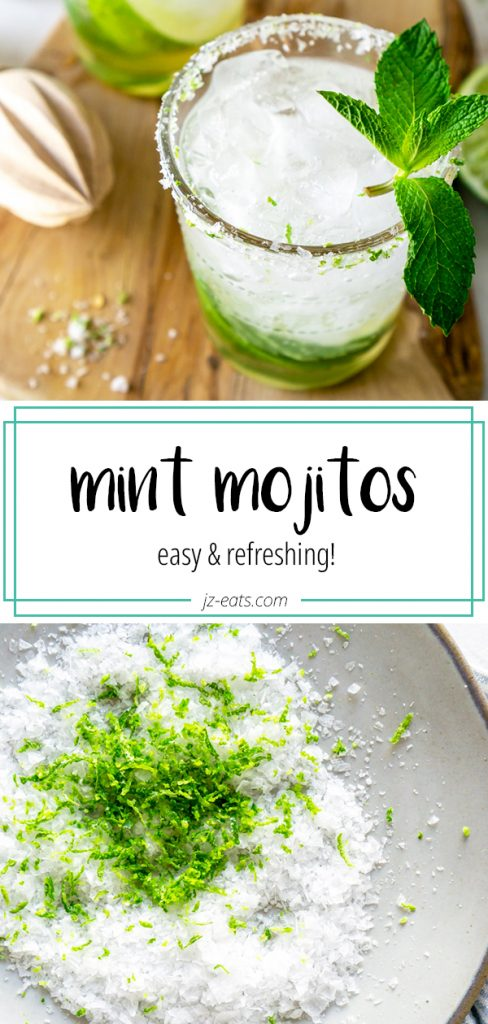mint mojitos pinterest pin