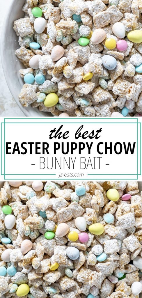 easter puppy chow pinterest pin